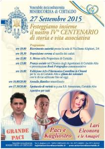 Centenario Misericordia Certaldo 2015